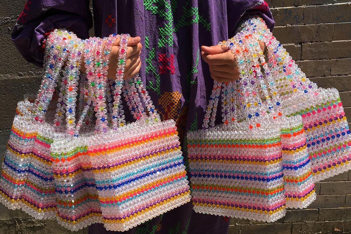 How To Make A Bag Out Of Beads ✓ Baik Bag