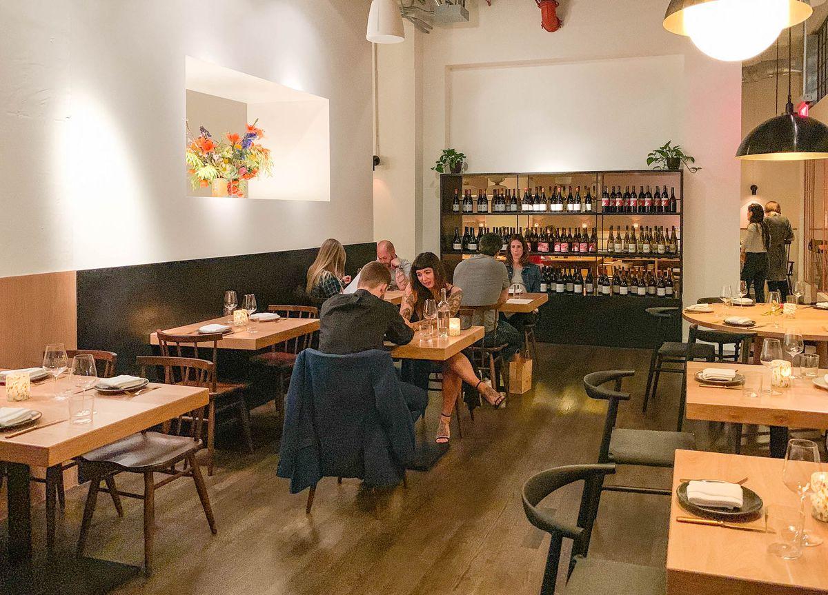 alameda supper club dining room