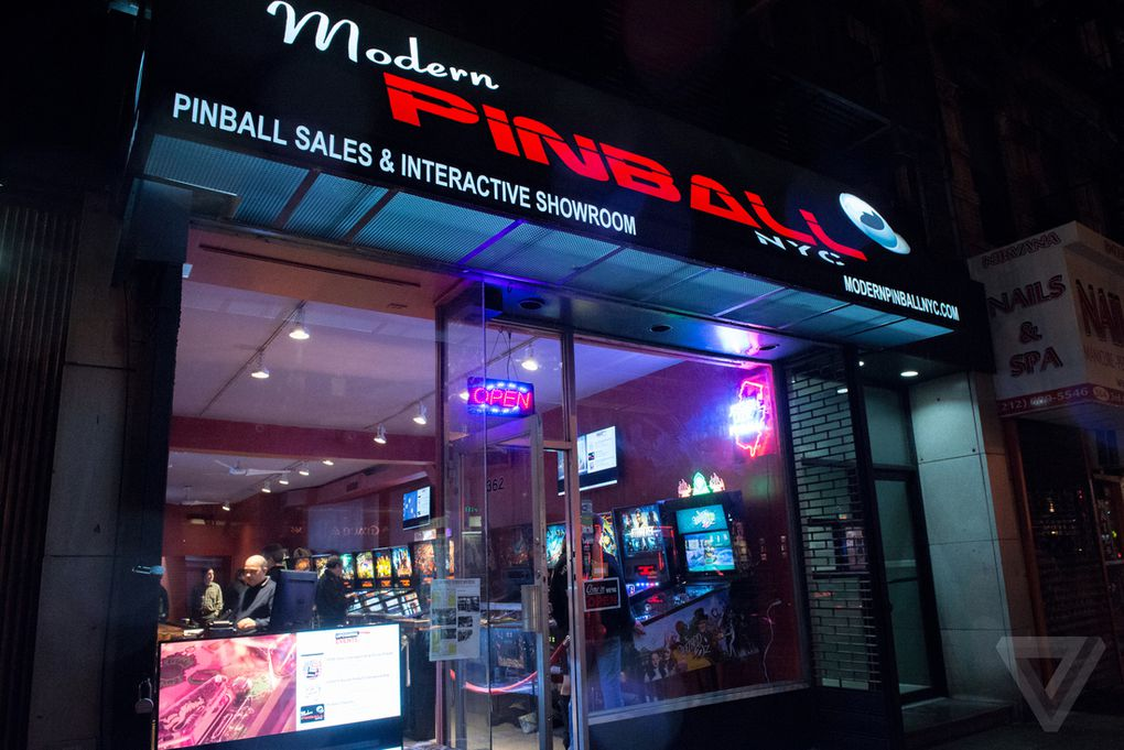 shoot again pinball is back in new york city the verge modern pinball is just a few weeks old but some say it heralds the return of pinball to new york city the store primarily sells pinball machines