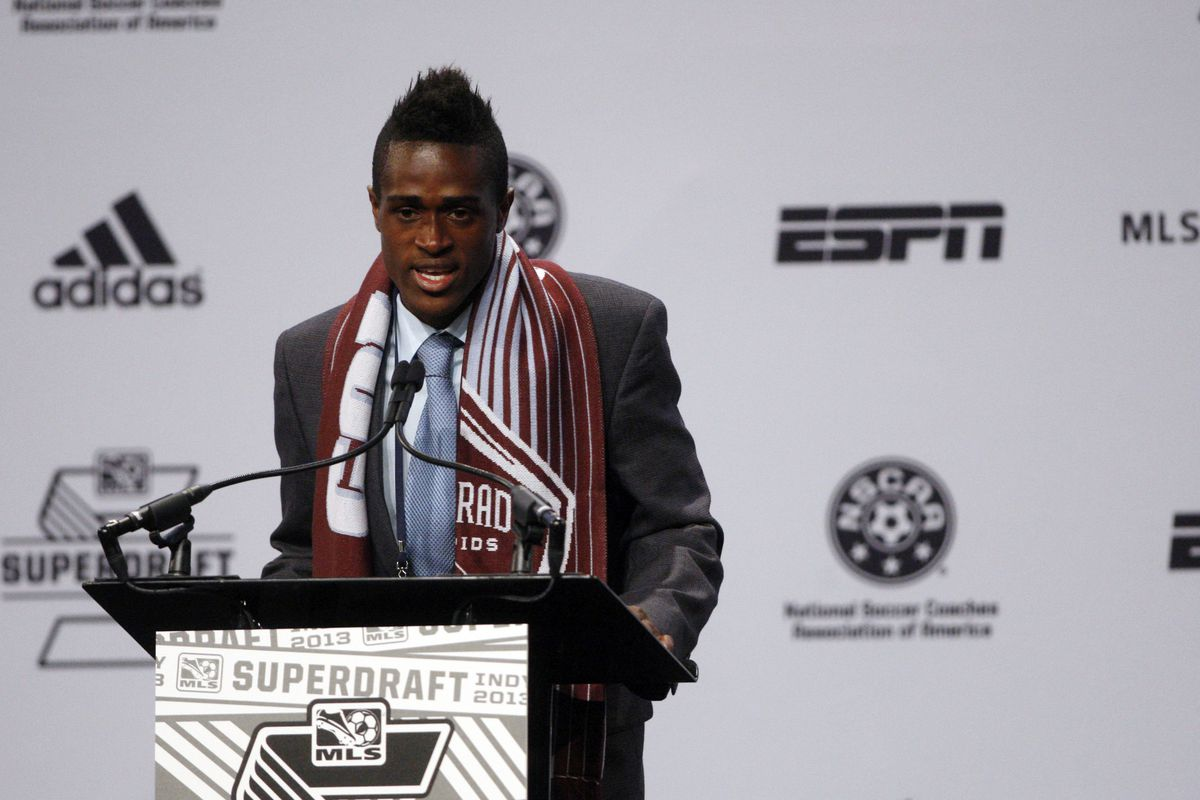 The Rapids' picking Deshorn Brown was just one of their clever moves.
