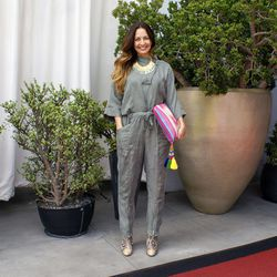 """<a href=""""http://sf.racked.com/""""target=""""_blank"""">Racked SF</a> editor and <a href=""""http://stylenik.com/""""target=""""_blank"""">Stylenik</a> blogger Kristen Philipkoski wearing an Urban Outfitters jumpsuit, an ASOS clutch, TJ Maxx necklace, Topshop boots and Miguel"""