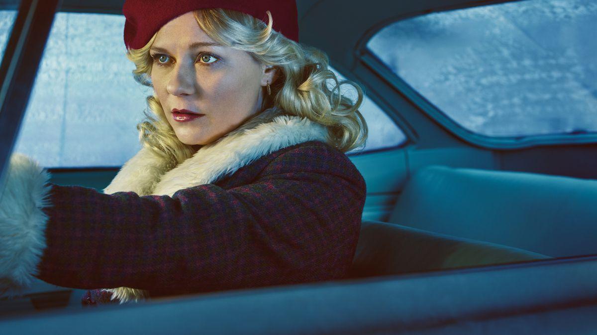 Kirsten Dunst stars in Fargo.