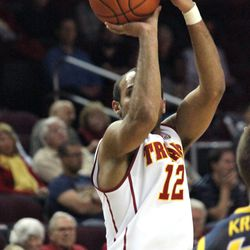 Julian Jacobs knocked down both of his three-point attempts.