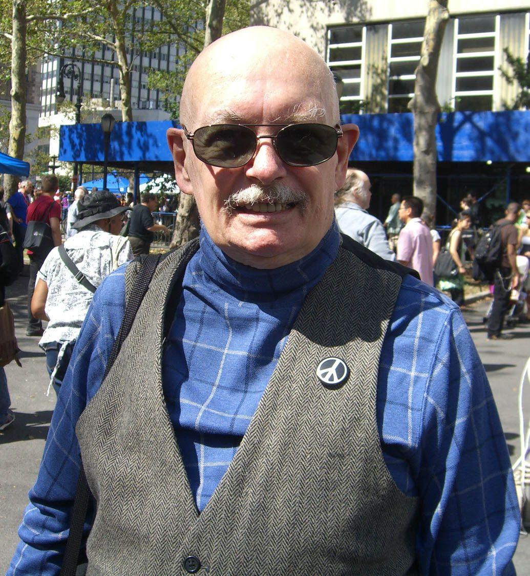 Denny O'Neil, at the Brooklyn Book Festival in 2009.