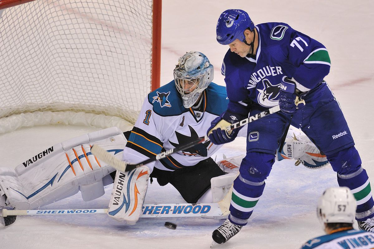 Thomas Greiss' impenetrable fortress of goaltending is what eventually convinced Owen Nolan to retire.
