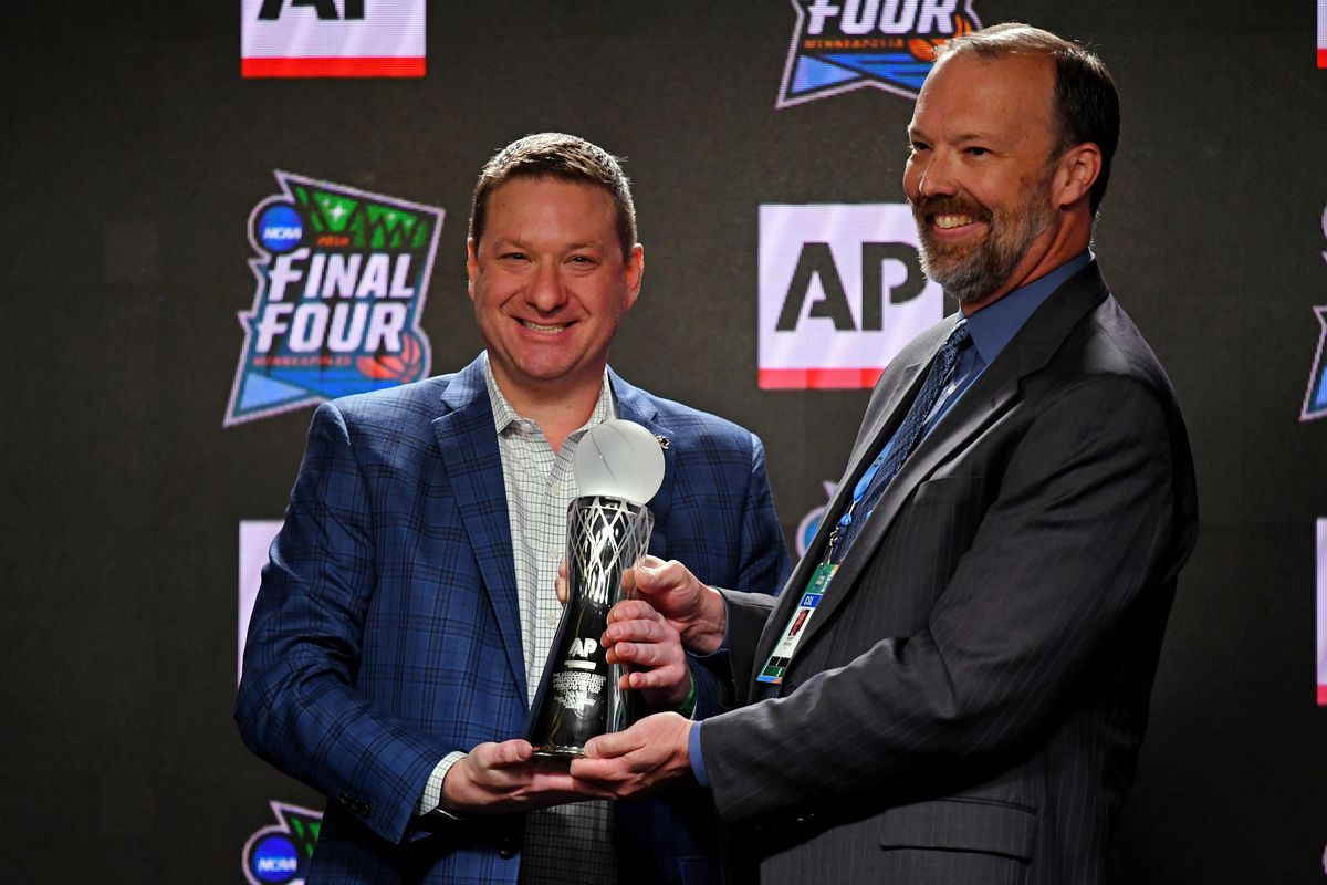 NCAA Basketball: Final Four-Coach of the Year Press Conference