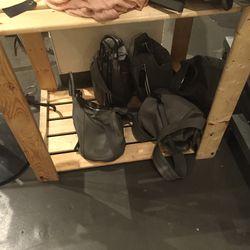 Forgotten bucket bags, $250