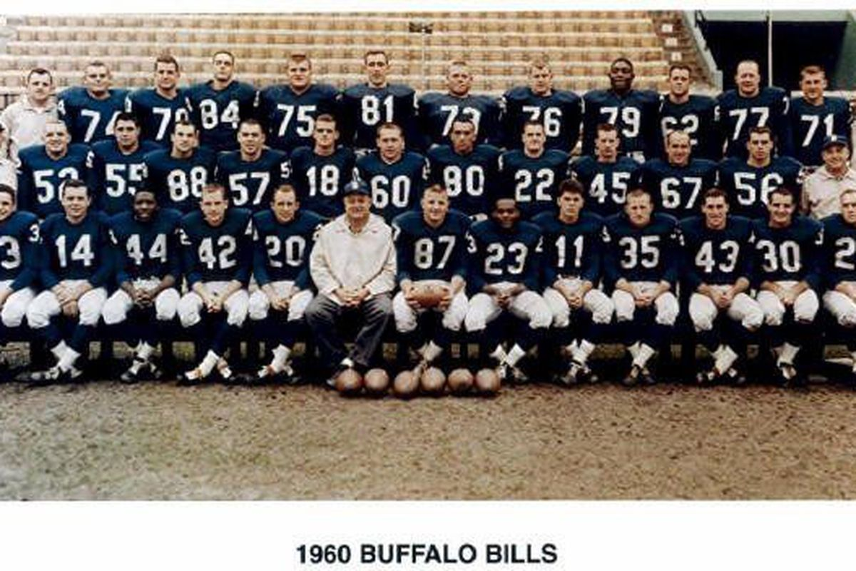 July 10 1960 First Buffalo Bills Training Camp Opens