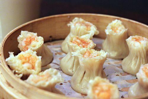 A basket of dumplings from Din Tai Fung in Seattle.