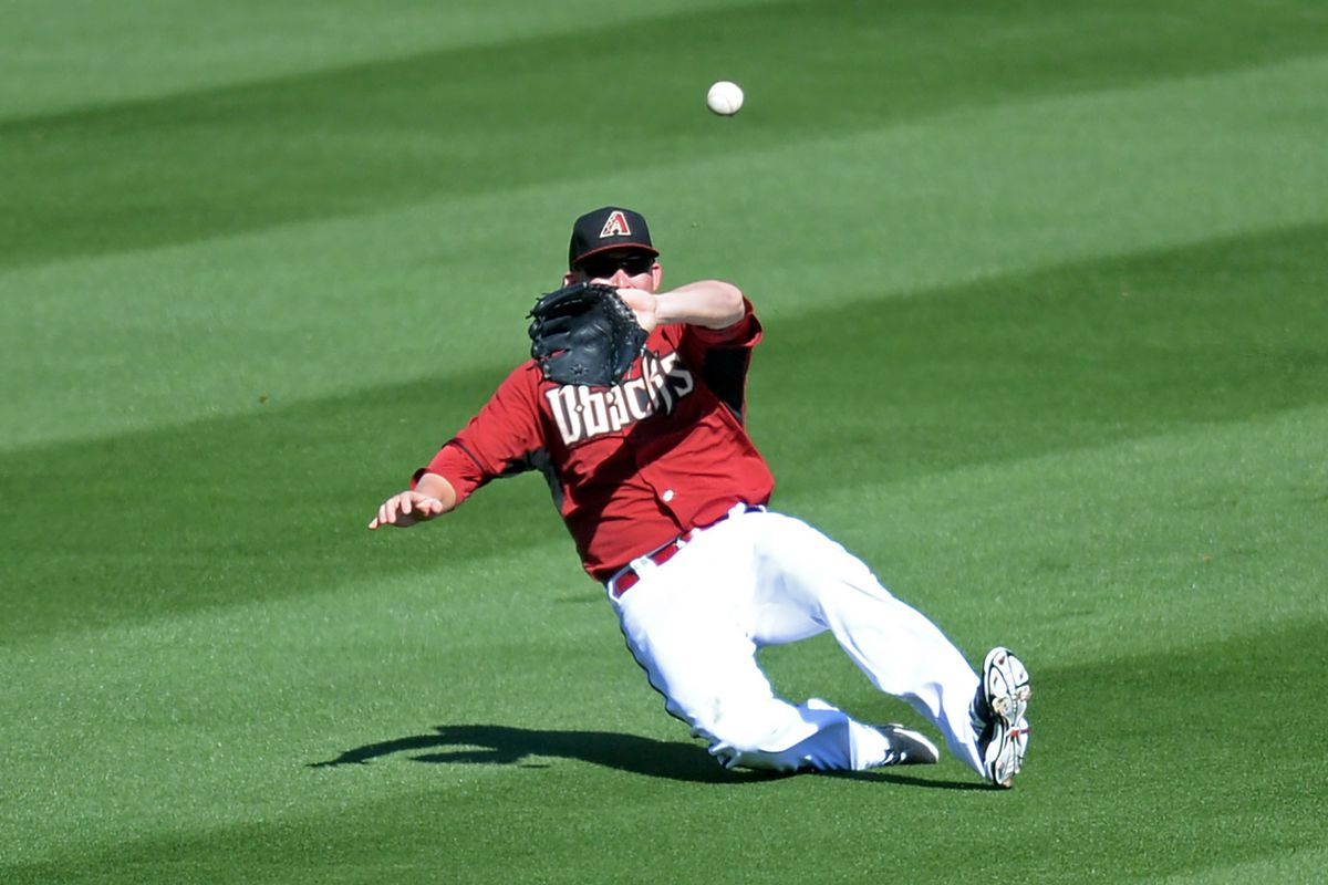 There was a non-zero chance of non-slide if this ball had just been to Mark Trumbo's glove side.