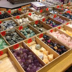 Assorted stones, $1-$3
