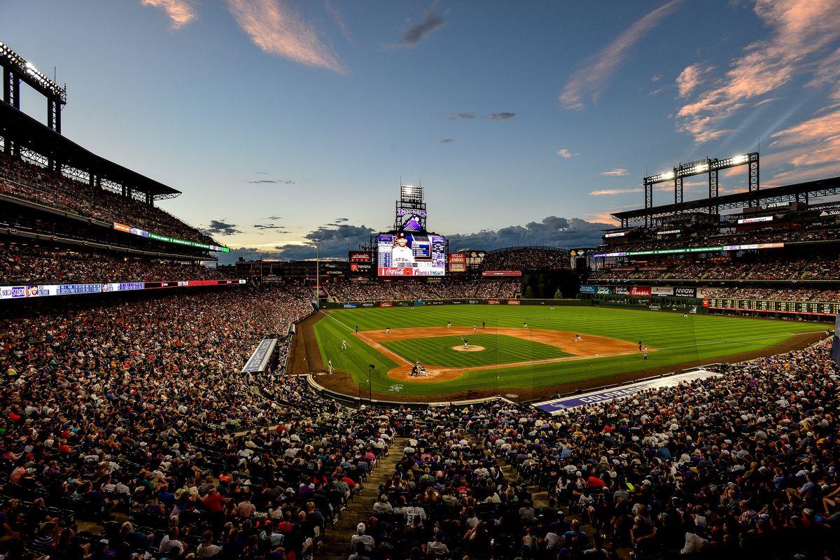 MLB: JUL 02 Astros at Rockies