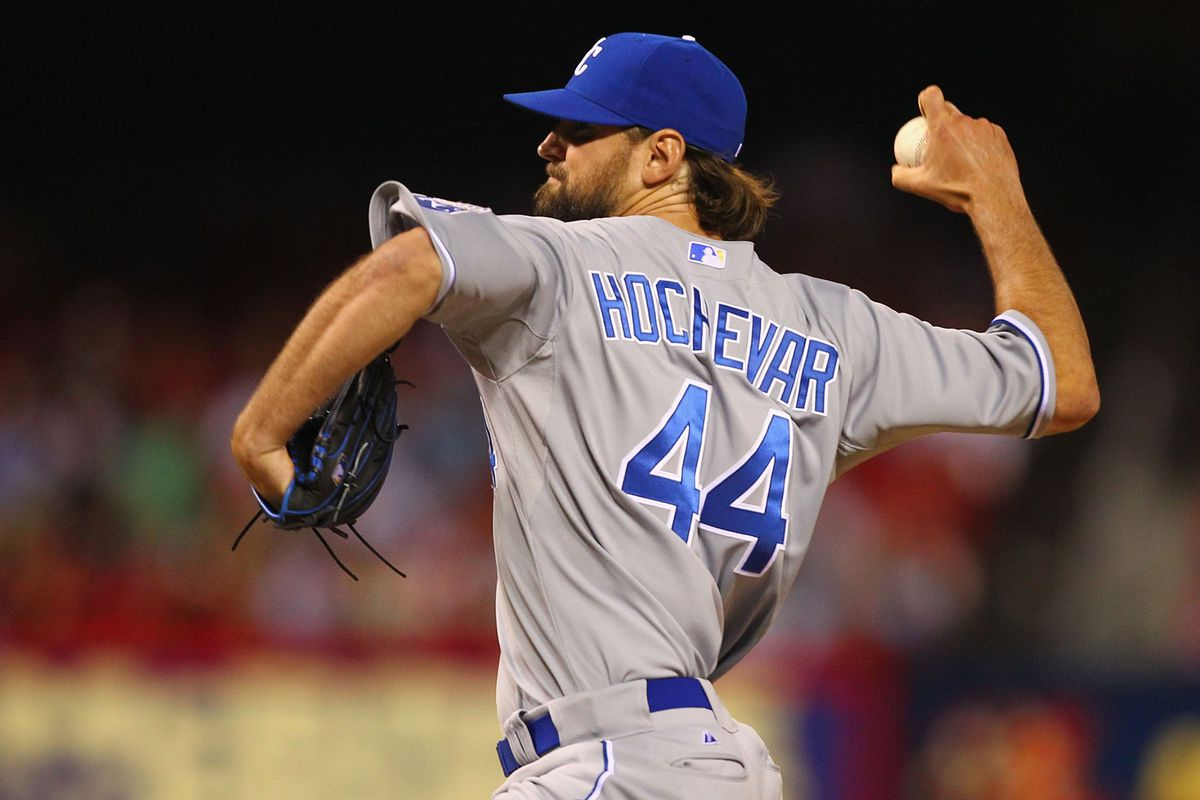 Luke Hochevar walked away from a contract his senior year to pitch in the Independent League.