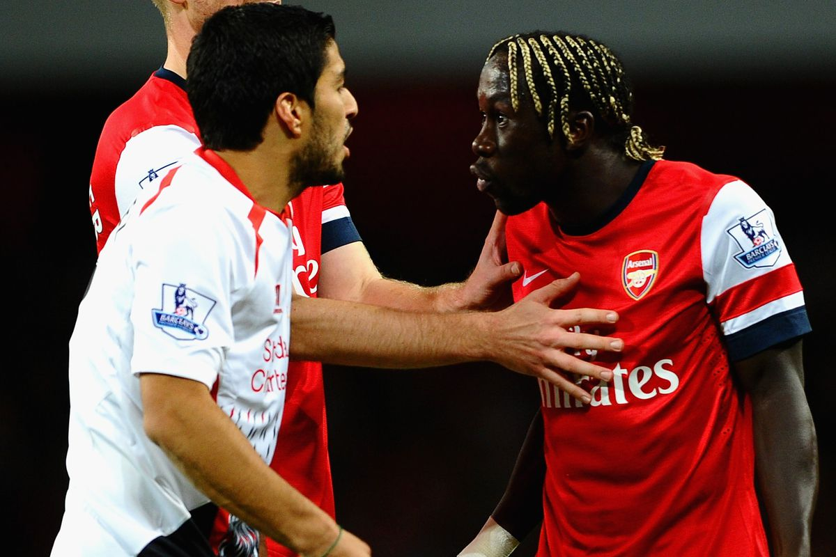 The only trouble Bacary Sagna dealt with all day.