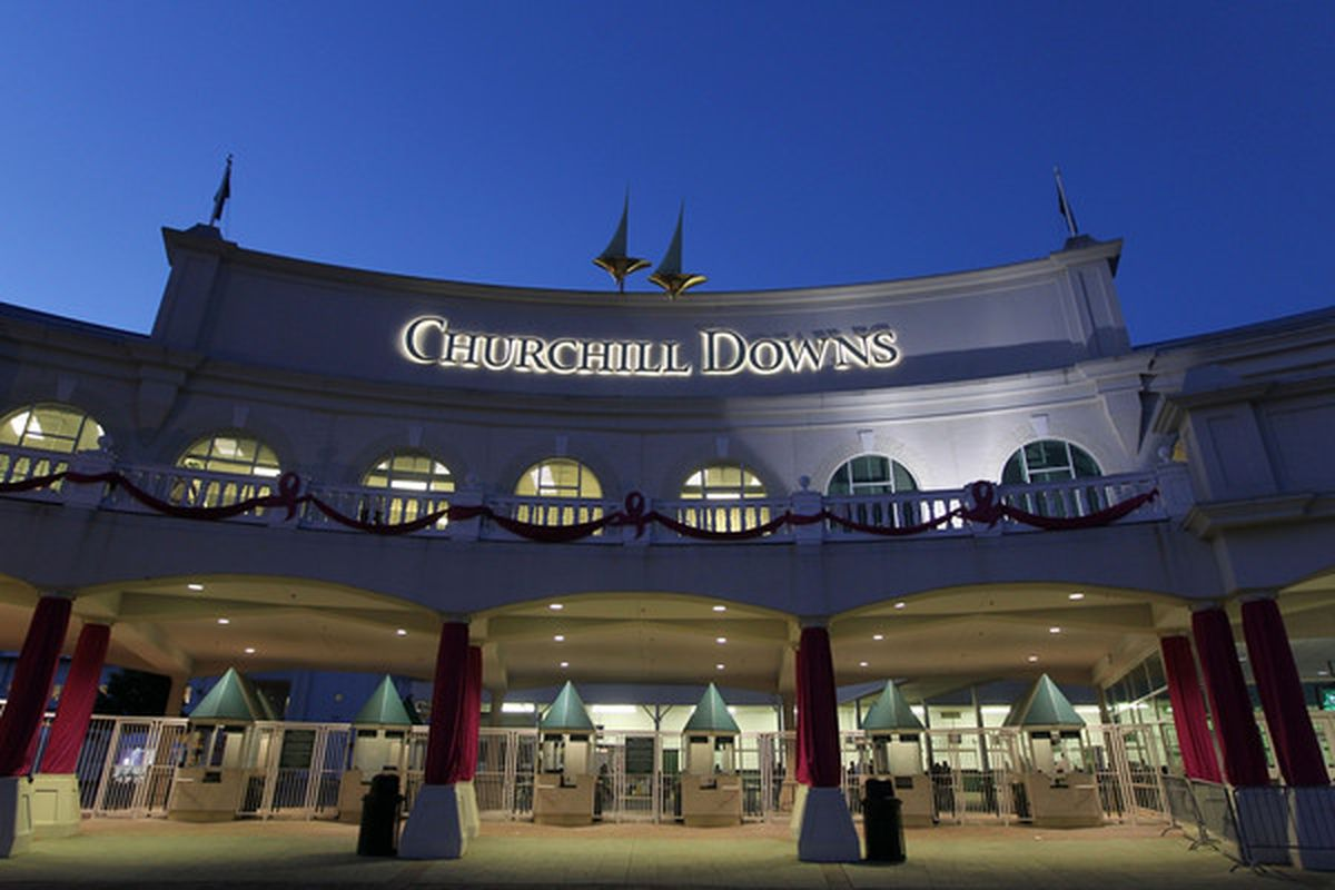 LOUISVILLE, KY - APRIL 30:  A view of Churchill Downs on April 30, 2010 in Louisville, Kentucky.  (Photo by Jamie Squire/Getty Images)