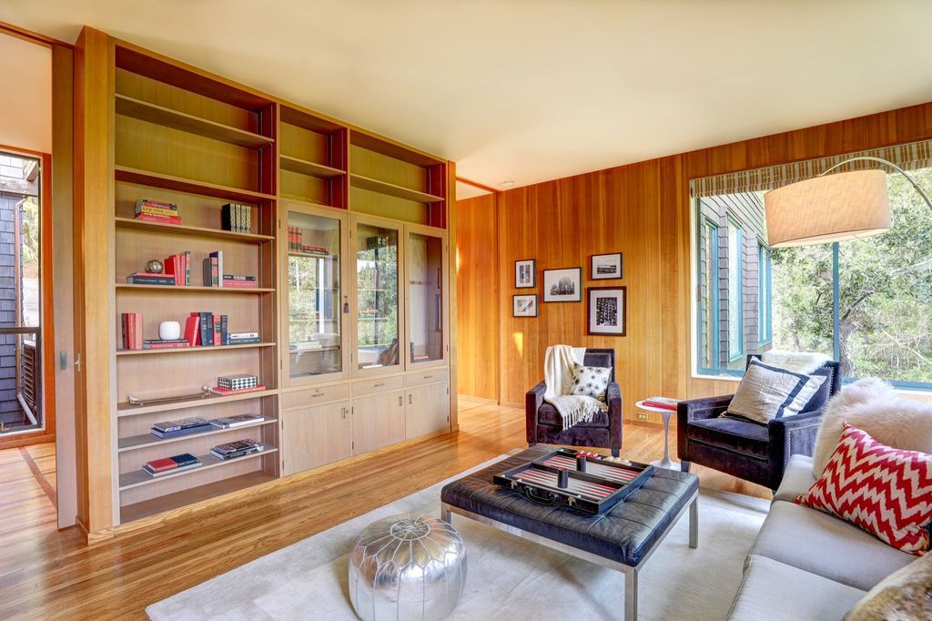 Joseph Esherick Designed Midcentury Home In Northern