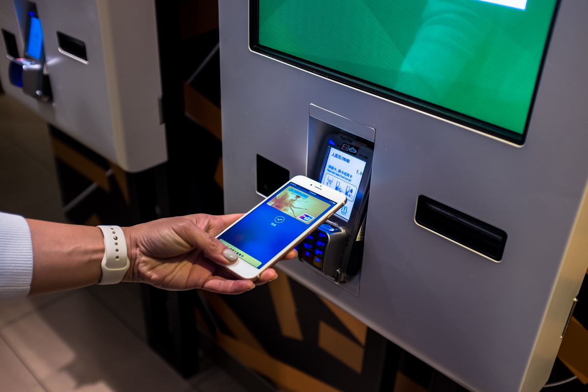 Phone used to pay for McDonald's wirelessly