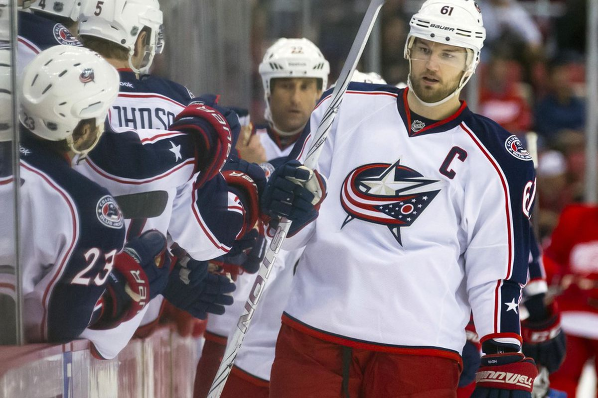 Could rick Nash be the answer to the New York Rangers' scoring issues? Rick Osentoski-US PRESSWIRE