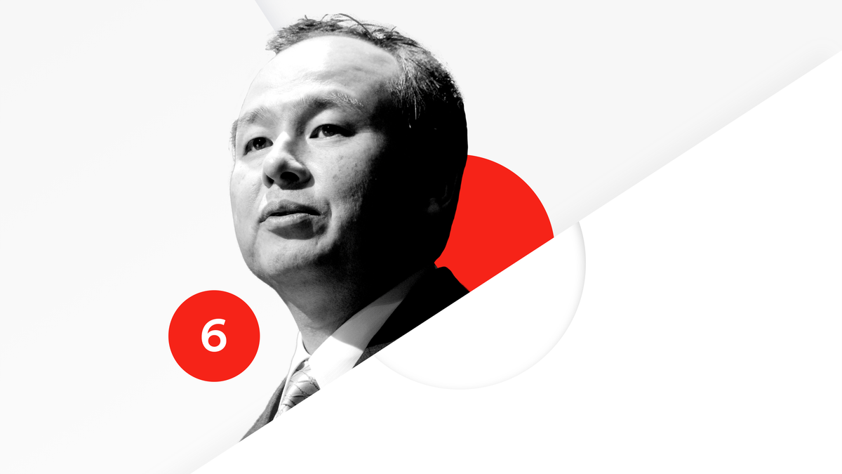 SoftBank's Masayoshi Son is No. 6 on the Recode 100.
