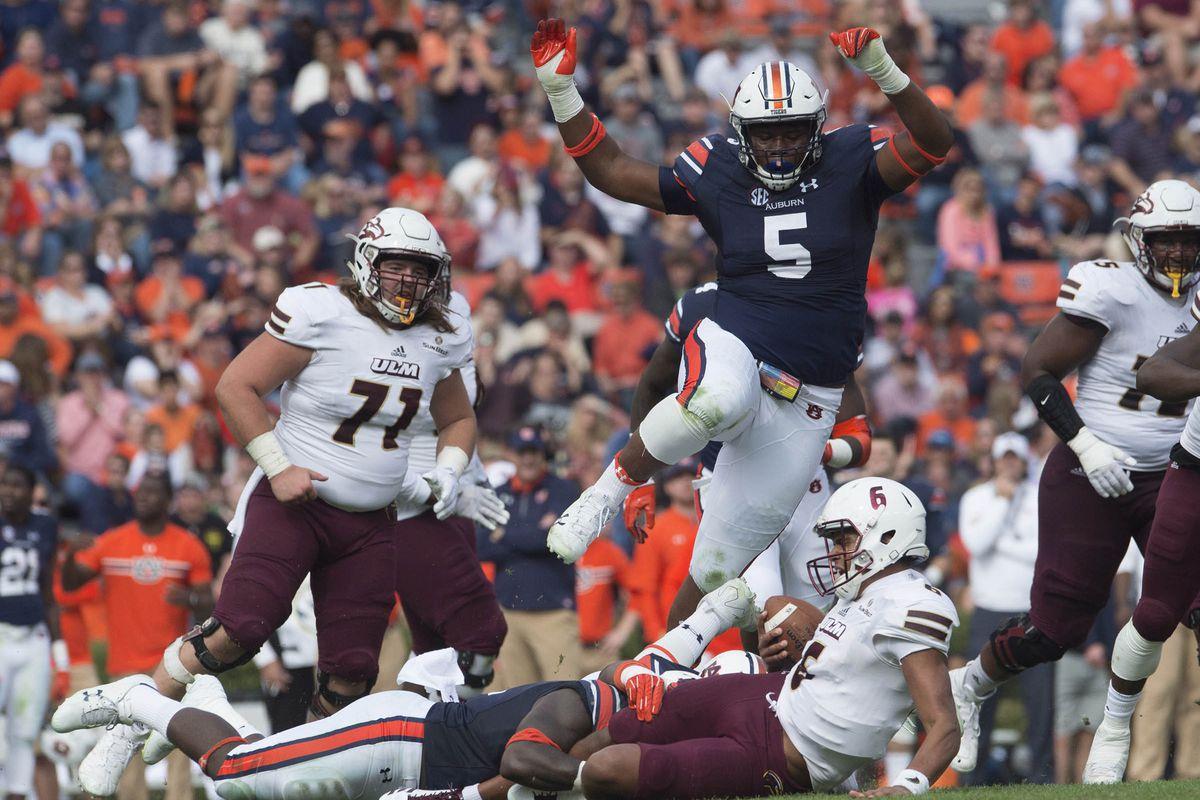NCAA Football: UL Monroe at Auburn