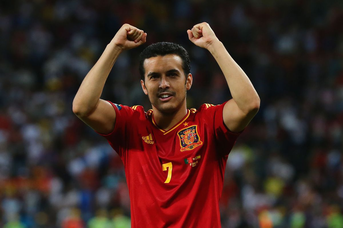Pedro had much to celebrate yesterday.