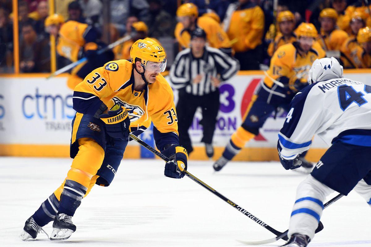 NHL: Winnipeg Jets at Nashville Predators