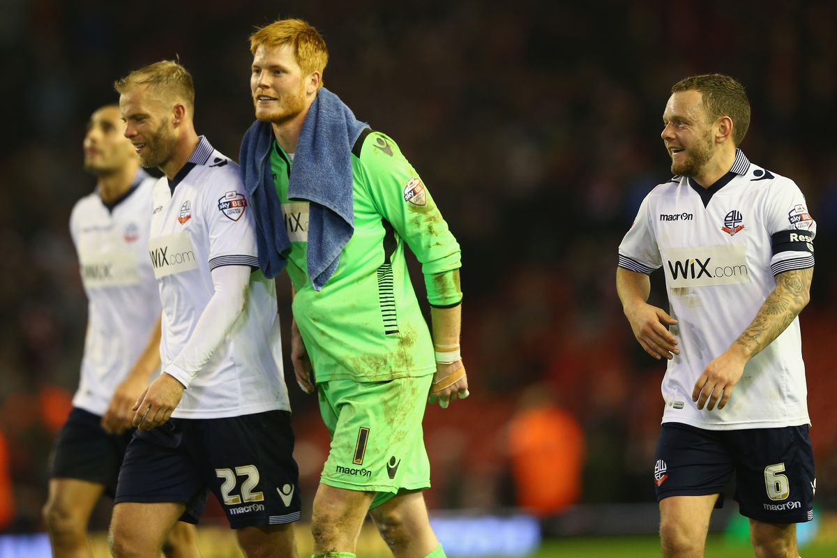 Wanderers' Anfield hero Adam Bogdan is ruled out, but lets hope for more heroics from his teammates tonight
