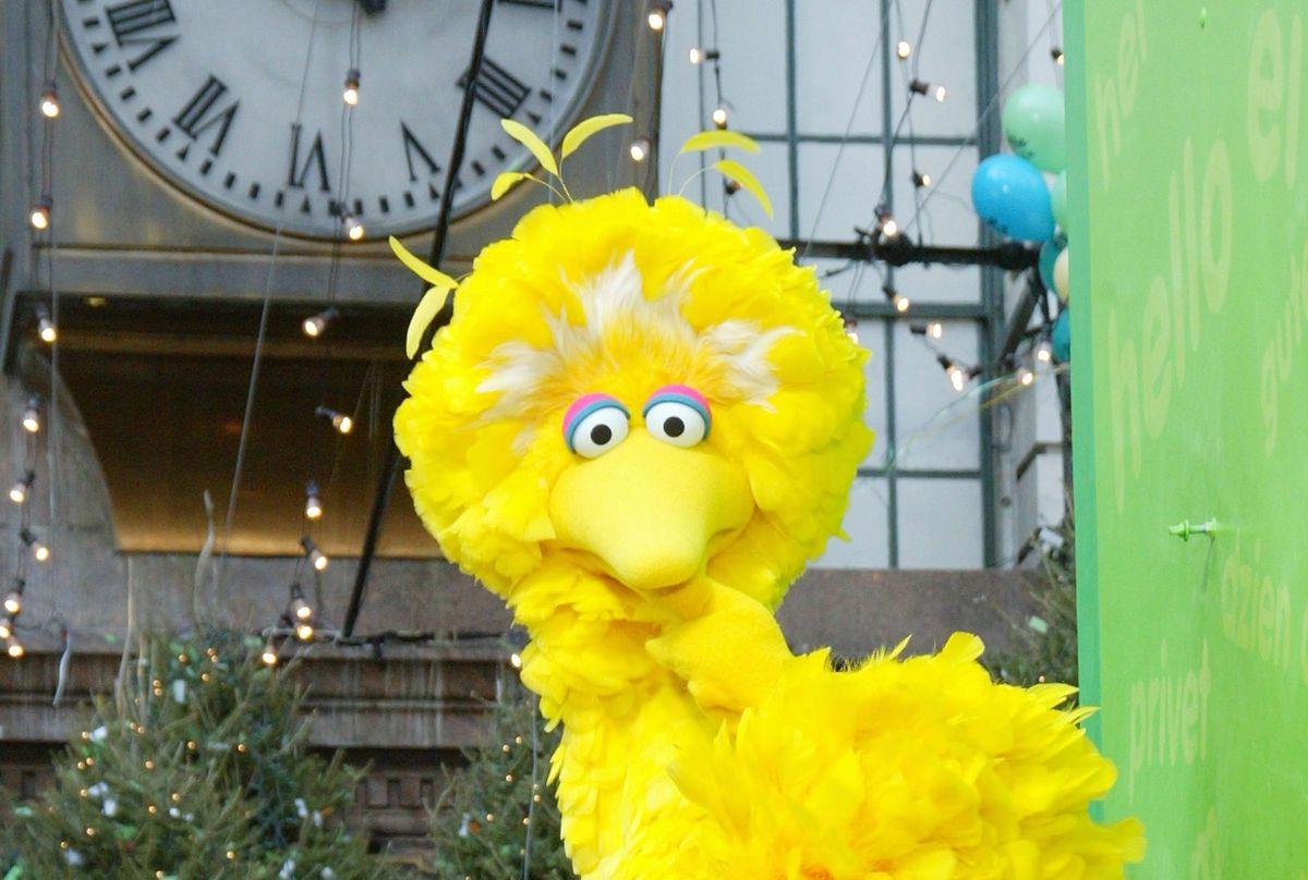 Big Bird in 2002. (Matthew Peyton/Getty Images)