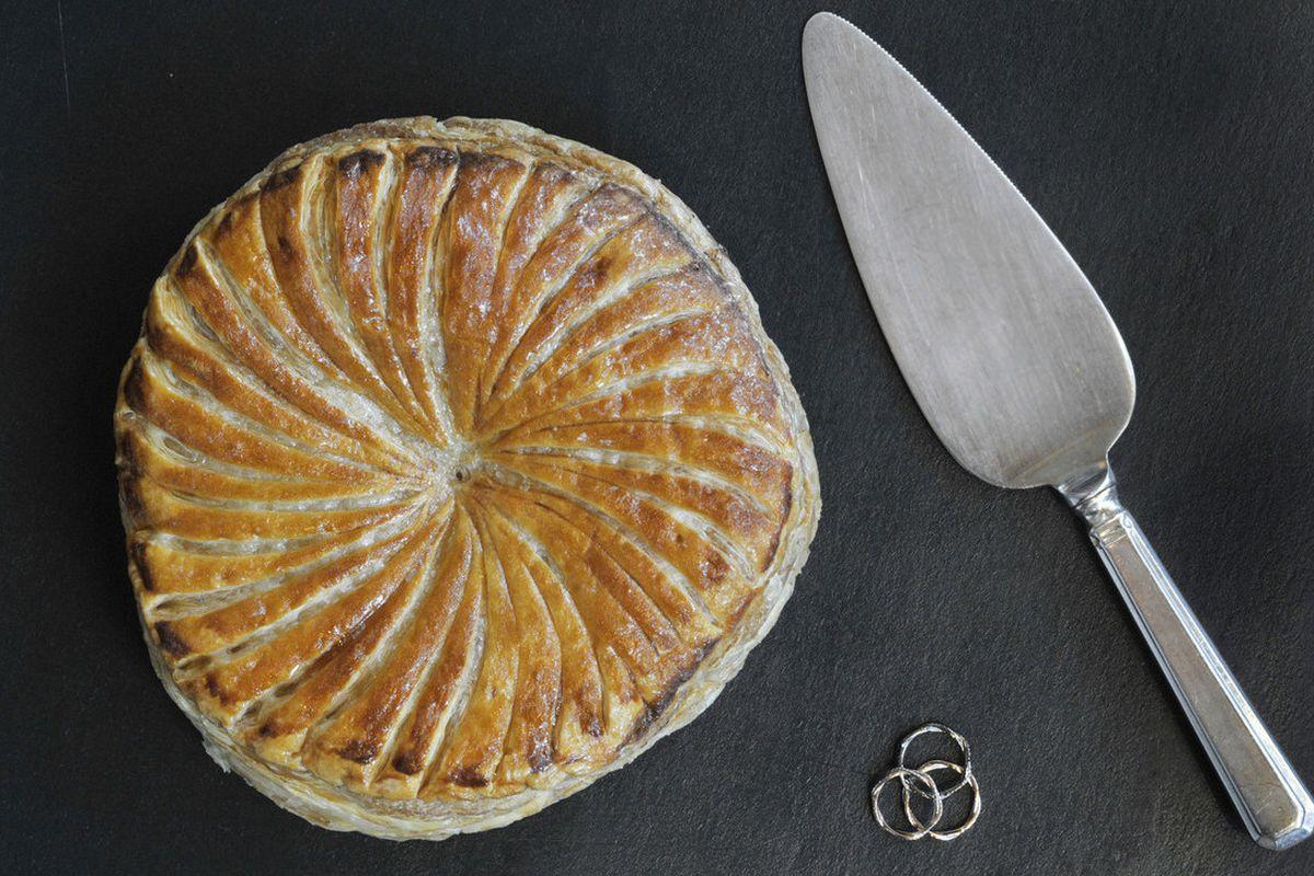 The Galette des Rois epiphany cake celebration at Hélène Darroze's two Michelin star London restaurant sent Instagram wild
