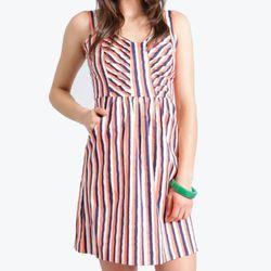 "<b>Brooklyn Industries</b> Tippi Printed Dress, <a href=""http://www.brooklynindustries.com/women-dresses/tippi-printed-dress"">$108</a>"