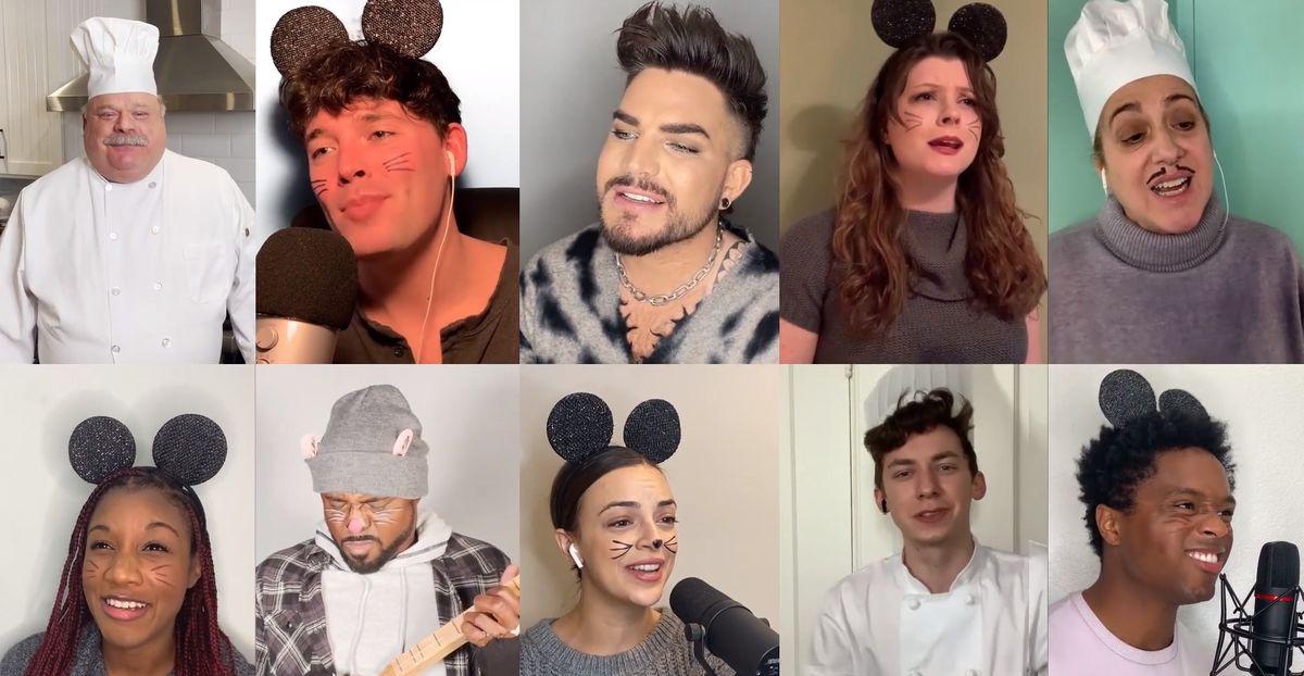 Ratatouille musical attori