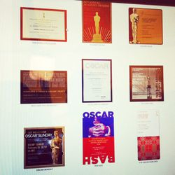 A sample of the Marc Friedland-designed, Academy-approved evites available on www.postmark.com.