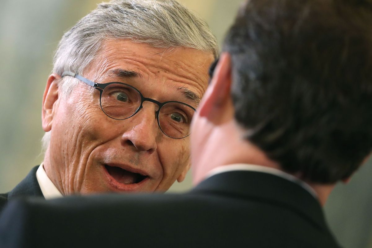 FCC Chairman Tom Wheeler Testifies To Senate Committee On Oversight At The FCC