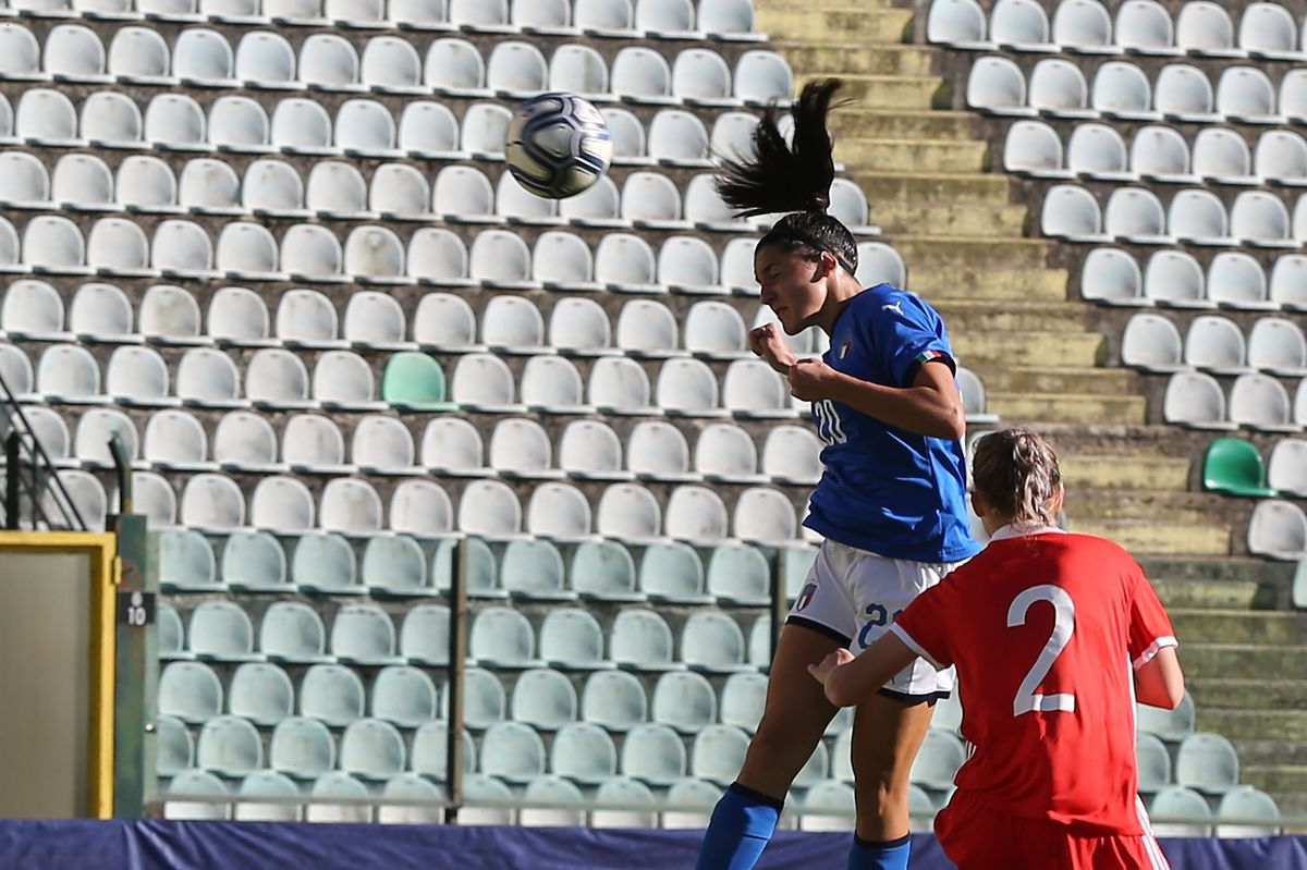 Italy v Russia: UEFA European Women's Under-19 Qualifying Round - Group 8