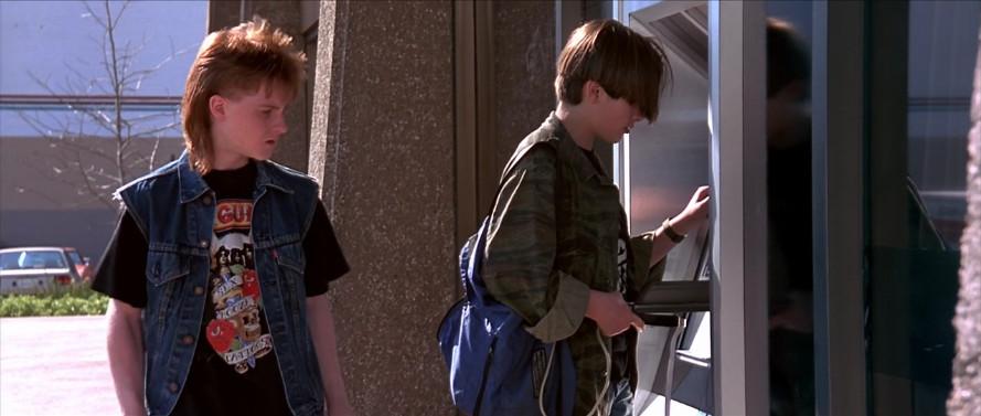 "John Connor hacks into an ATM machine in ""Terminator 2."""