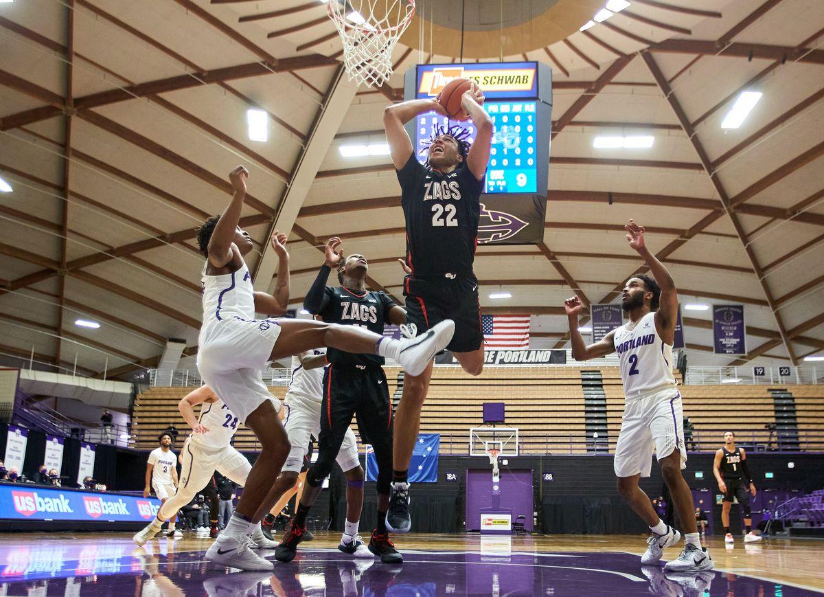 NCAA Basketball: Gonzaga at Portland