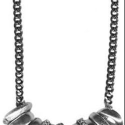 Giles & Brother African ring and rhinestone necklace, $175 (originally $285)