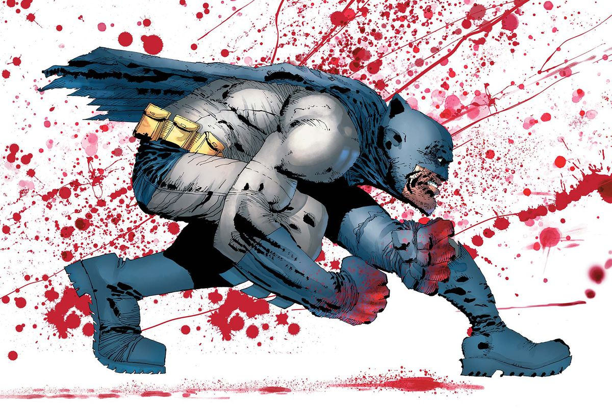 Frank Miller DC Comics In His First Sequel To The Dark Knight