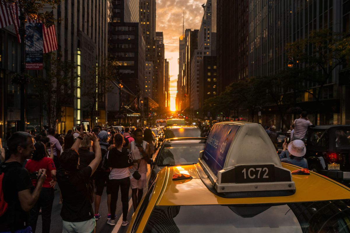 Image result for manhattanhenge
