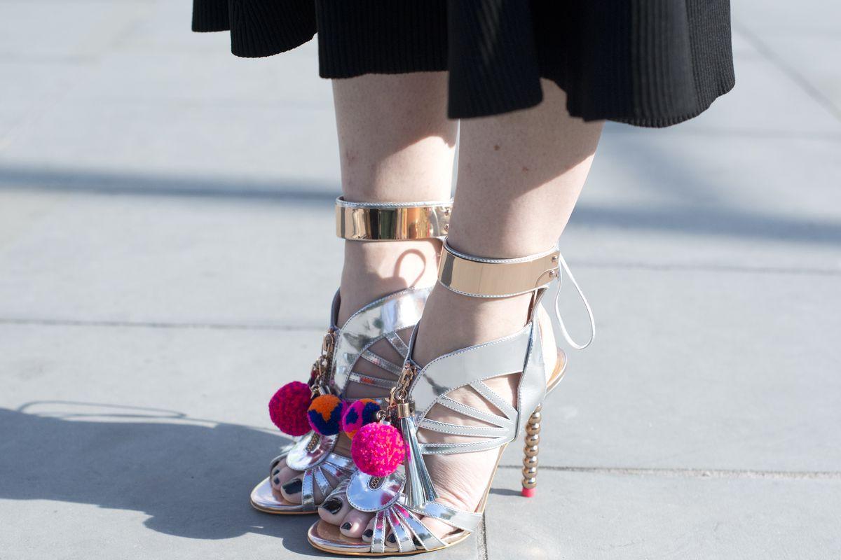 Sophia Webster heels spotted during London Fashion Week