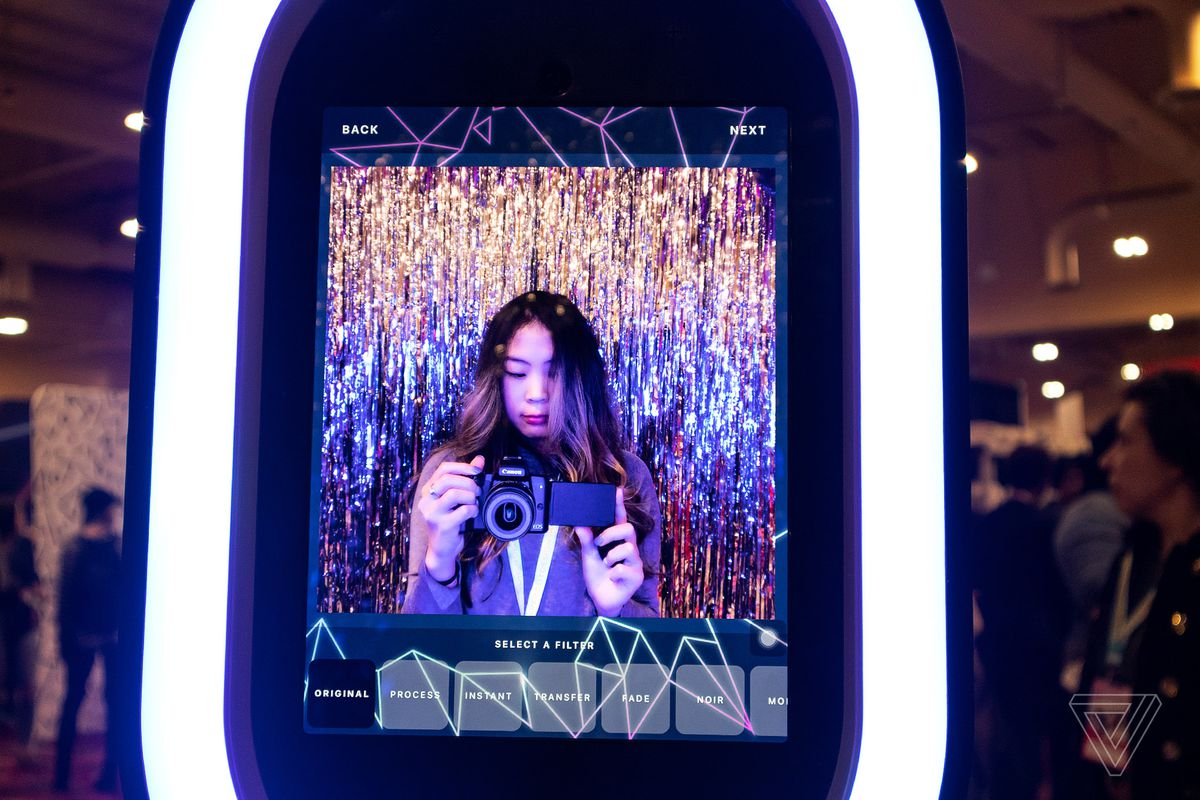 The next generation of photo booths have their sights set on