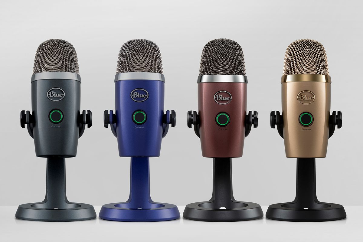 Blue brings out a baby Yeti microphone for podcasters and YouTubers