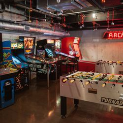 The coin-operated arcade