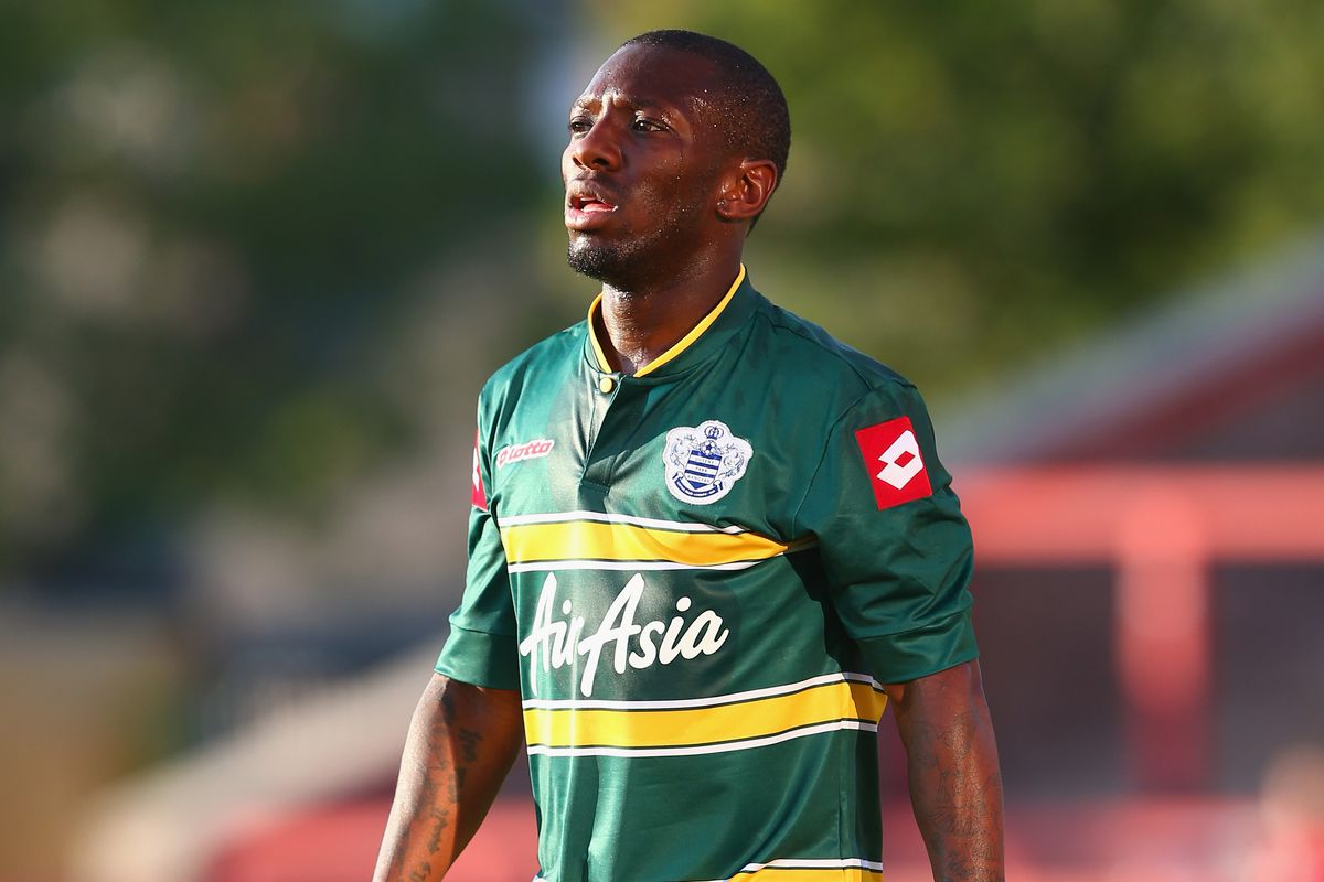 Shaun Wright-Phillips in action for Queens Park Rangers in a July friendly against Exeter City.