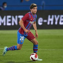 Sergi Roberto was in from the start