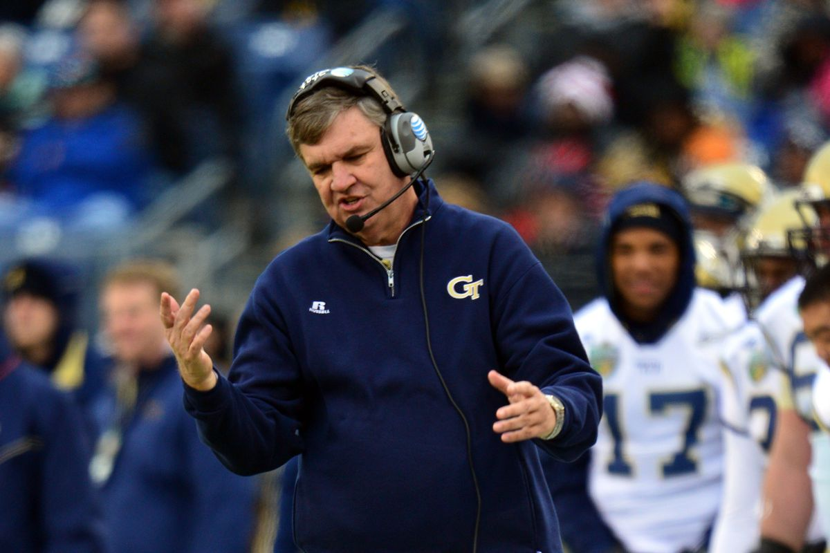 Paul Johnson hates lots of things, not the least of which is baseless rumors.