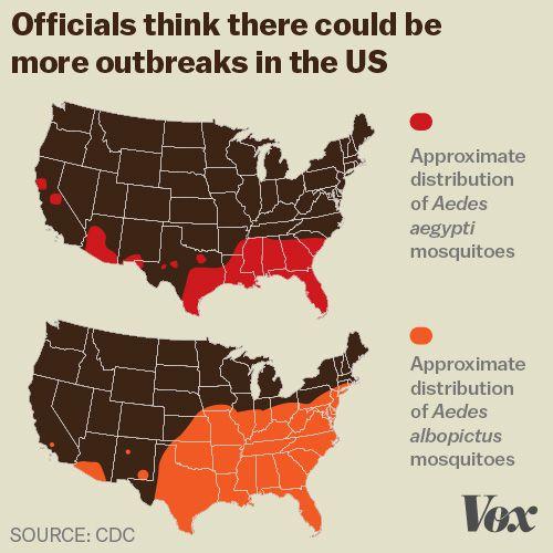 Zika virus, explained in 6 charts and maps - Vox on japanese encephalitis map, yellow fever map, powassan virus map, west nile virus map,