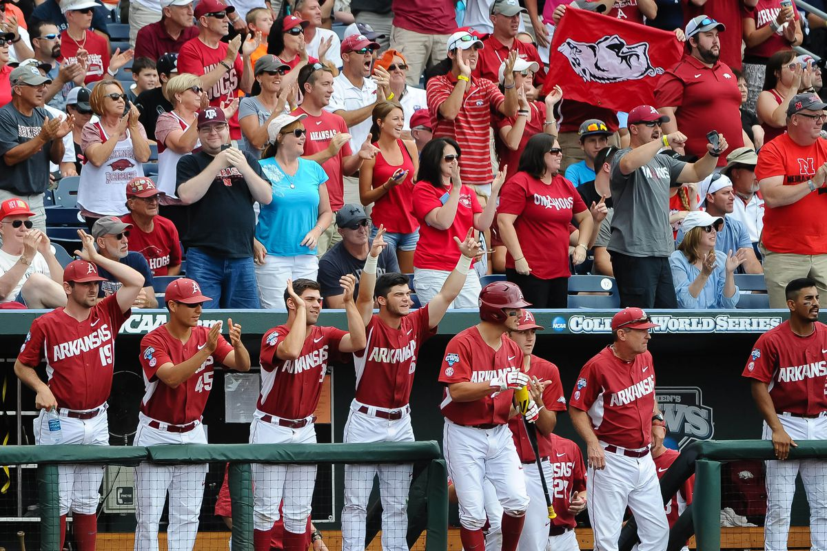 Arkansas' run to the College World Series was one of the year's highlights.