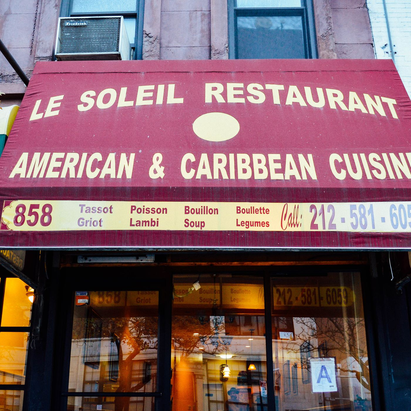 Haitian Holdout Le Soleil Keeps The 60s Dream Alive Eater Ny