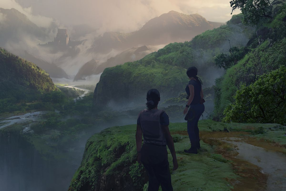 Uncharted: The Lost Legacy - Nadine/Chloe in jungle